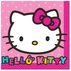 Hello Kitty Rainbow Beverage Napkins