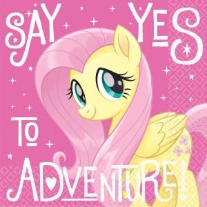My Little Pony Friendship Adventures Lunch Napkins