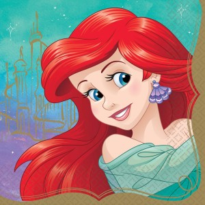 Disney Princess Once Upon A Time Ariel Lunch Napkins