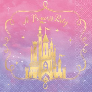 Disney Princess Once Upon A Time Lunch Napkins
