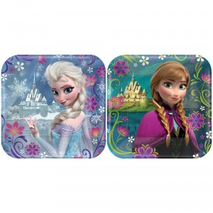 Disney Frozen Assorted Designs Lunch Plates