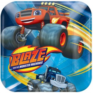Blaze & The Monster Machines Lunch Plates