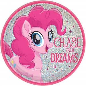 My Little Pony Friendship Adventures Lunch Plates