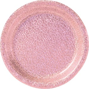 Pink New Prismatic Lunch Plates