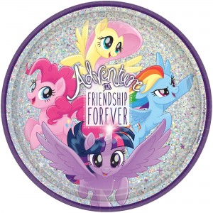 My Little Pony Friendship Adventures Prismatic Dinner Plates