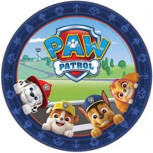Paw Patrol Adv Dinner Plates