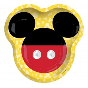Mickey Mouse Forever Shaped Dinner Plates