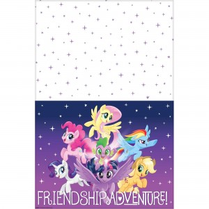 My Little Pony Friendship Adventures Plastic Table Cover