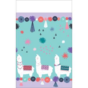 Llama Fun Paper Table Cover