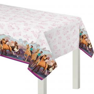 Spirit Riding Free Paper Table Cover