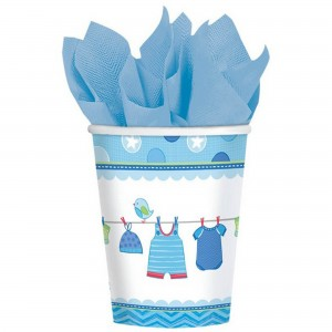 Shower with Love Boy Paper Cups