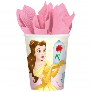 Beauty & the Beast Paper Cups