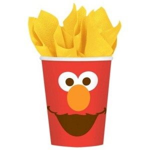 Elmo Turns One Paper Cups