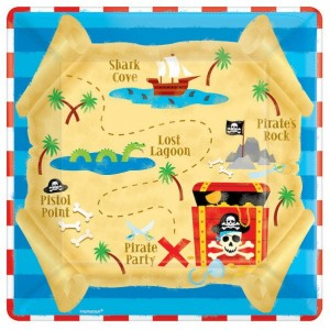 Pirate's Treasure Dinner Plates