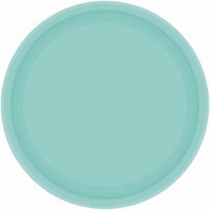 Blue Robin's Egg Paper Dinner Plates