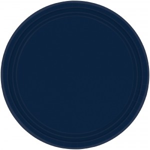 Blue Navy  Dinner Plates