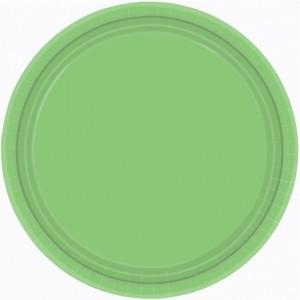 Green Kiwi Paper Dinner Plates