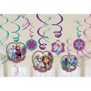 Disney Frozen Swirls Hanging Decorations