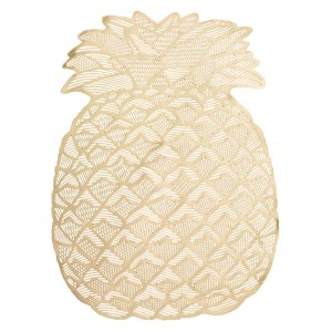 Hawaiian Luau Pineapple Placemats Misc Accessorie