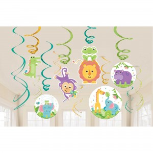 Fisher Price Hello Baby Swirls Hanging Decorations