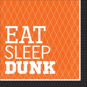 Basketball Fan Nothin' But Net Basketball Lunch Napkins