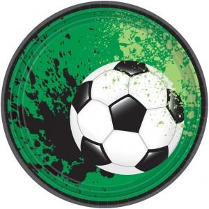 Soccer Goal Getter Lunch Plates