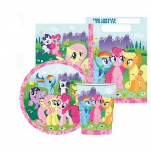 My Little Pony Friendship Party Packs