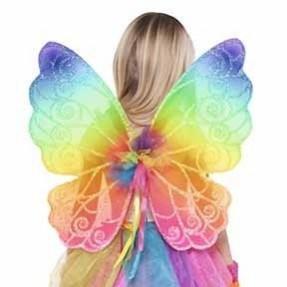 Fairies Rainbow Fairy Wings Costume Accessorie
