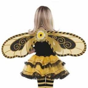 Fairies Bumblebee Fairy Wings Costume Accessorie