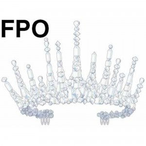 Disney Frozen Icicle Crown Head Accessorie