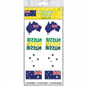 Australia Day Tattoo Favours