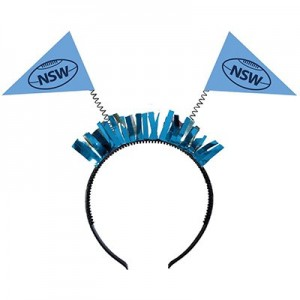 State of Origin NSW Head Bopper Headband Costume Accessorie