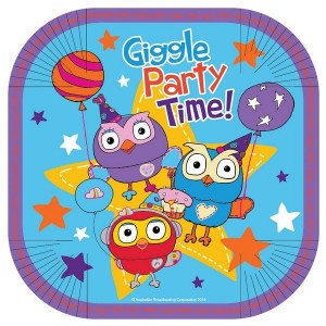 Giggle & Hoot Lunch Plates