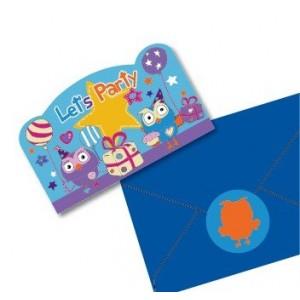 Giggle & Hoot Postcard Invitations