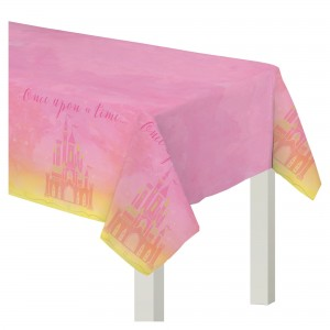 Disney Princess Once Upon A Time Paper Table Cover