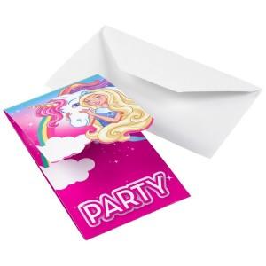 Barbie Dreamtopia Invitations