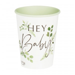 Botanical Baby Paper Cups