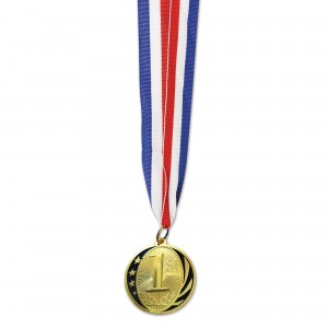 Sports Gold 1st Place  Medal Award