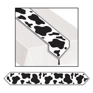 Cow Print Table Runner