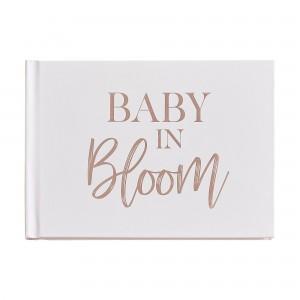 Baby in Bloom Guest Keepsake Book