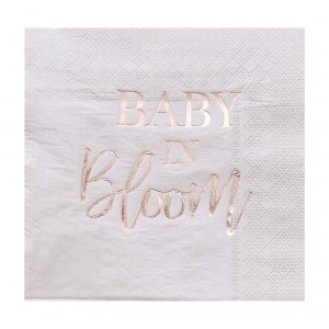 Baby in Bloom Lunch Napkins