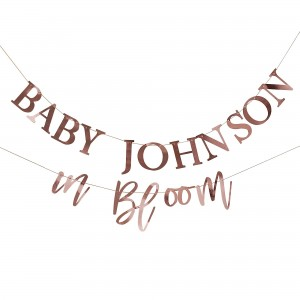 Baby in Bloom Banner