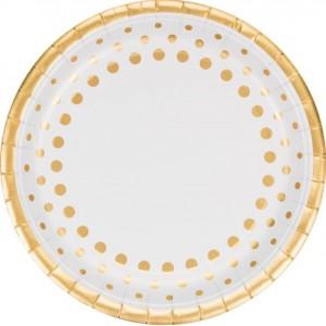 Gold Sparkle & Shine Dinner Plates
