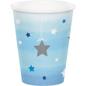 Boy One Little Star Paper Cups