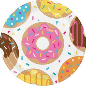 Donut Time Paper Dinner Plates