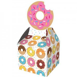 Donut Time Treat Favour Boxes