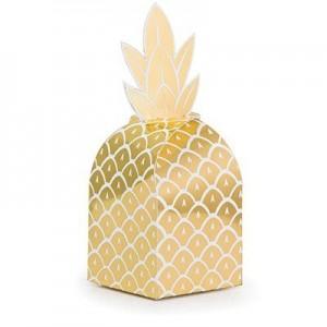 Bridal Shower Pineapple Wedding Treat Favour Boxes