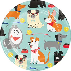 Dog Lunch Plates