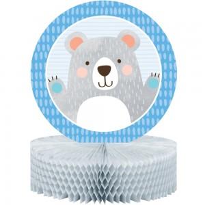 1st Birthday Bear Honeycomb Centrepiece