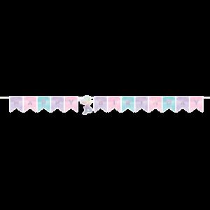 Mermaid Shine Iridescent Banner